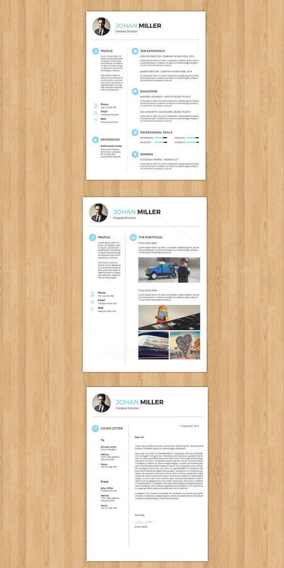 3 Page Professional Resume V018 769 best Resume