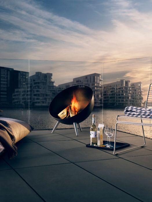 feuerschale fireglobe grill feuer pinterest grill. Black Bedroom Furniture Sets. Home Design Ideas