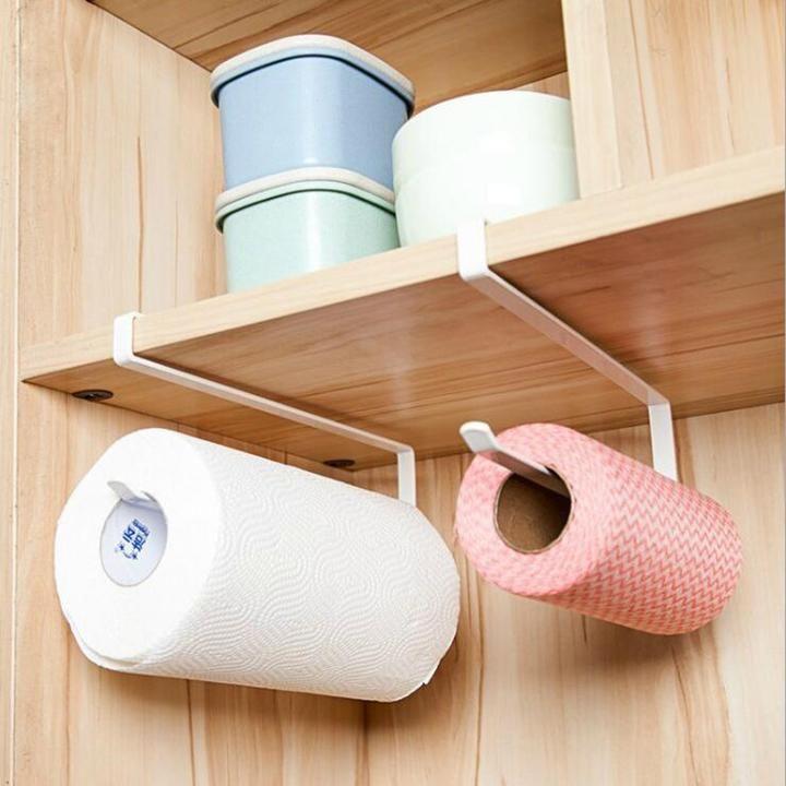 Cabinet Paper Towel Trash Bag Holder Cheers