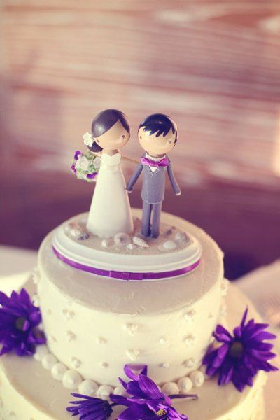 Cake Toppers Wedding Cakes Photos on WeddingWire