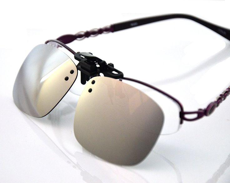 Careview Silver Mirror Myopia Retro Polarized Clip-on Flip-up AVIATOR Plastic Sunglasses Driving Fishing Outdoor Sport-5.3X2.4X1.4 INCH *** See this great product.
