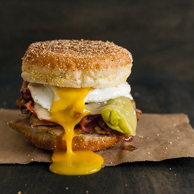 The Cubano just got better! Put an egg on it for the ultimate Cubano Breakfast Sandwich! ?#recipe #ontheblog