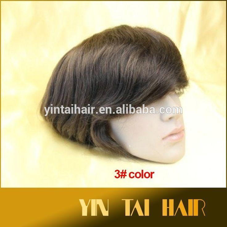 Human hair men toupee wholesale high quality india remy human natural hair super thin skin men's toupee #Cuticle, #skin