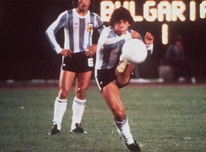 Diego Armando Maradona, Argentina