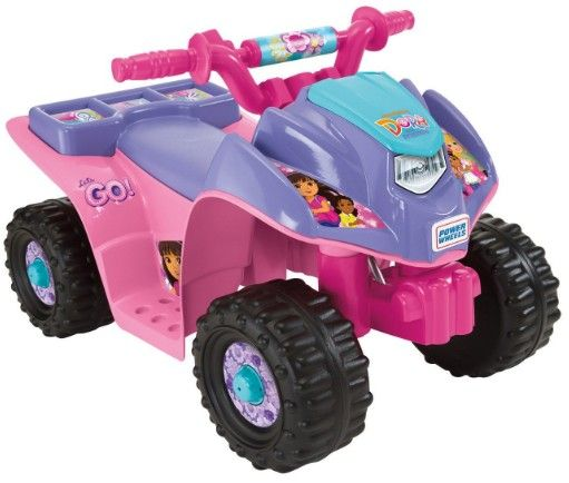 Amazon.com:+Power+Wheels+Nickelodeon+Dora+&+Friends+Lil+Quad+55%+Off!