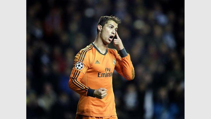 Für Cristiano Ronaldo war es bereits der 9. Treffer in der laufenden Champions-League-Saison