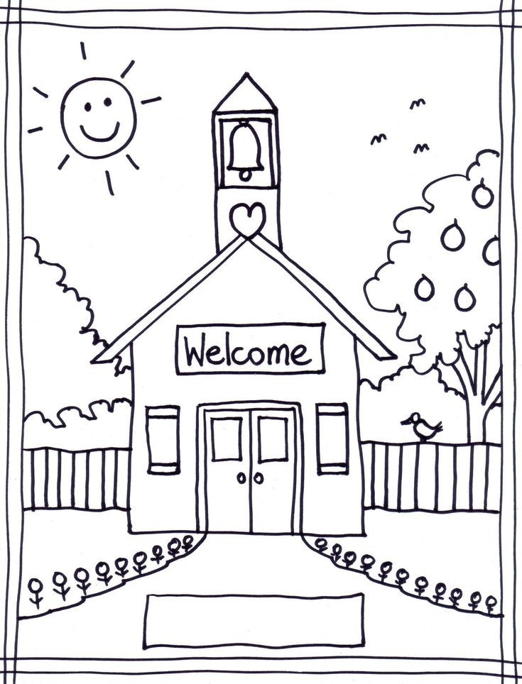 Free Printable First Day Of School Coloring Pages For Kindergarten : 7 best letter trace images on pinterest