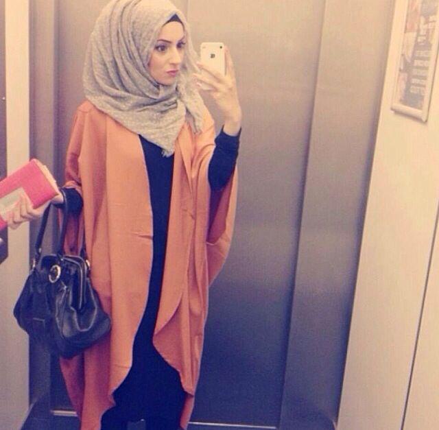 simple abaya and kimono... My kind of thing