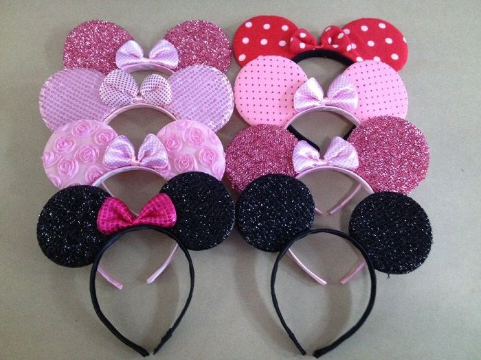 Encontrar Más Accesorios para Cabello Información acerca de Alta calidad de los niños minnie mouse orejas diadema muchacho de la muchacha headwear kids birthday party supplies minnie decoraciones, alta calidad caja de suministros, China kids party favores bolsas Proveedores, barato niños de halloween fuentes del partido de K&L International Trade Company en Aliexpress.com
