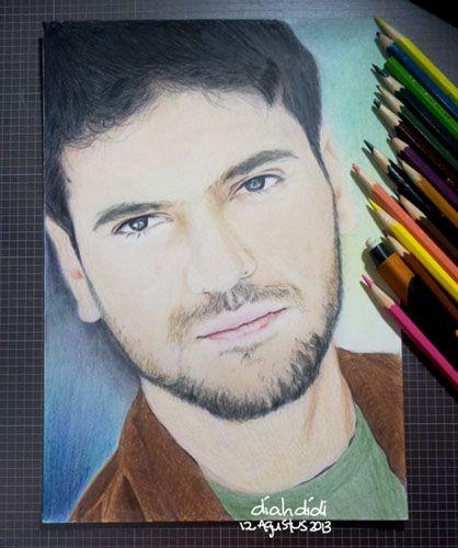 Sami Yusuf portrait drawing.  #A4 #FaberCastell #ClassicColour