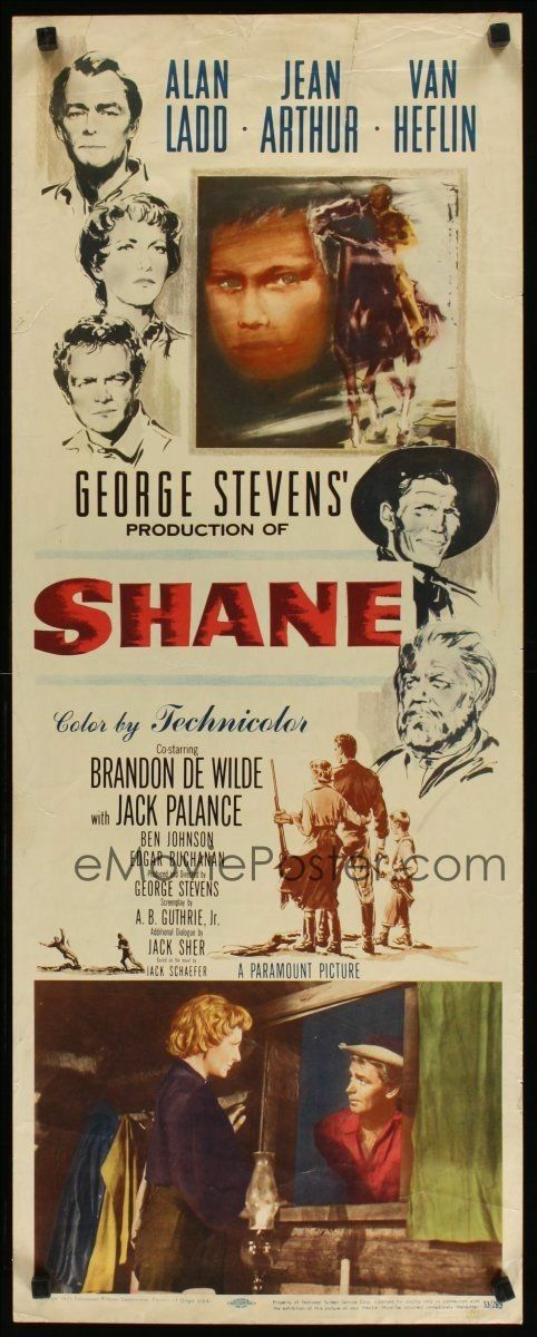 Shane (1953) Alan Ladd, Jean Arthur, Van Heflin -Watch Free Latest Movies Online on Moive365.to