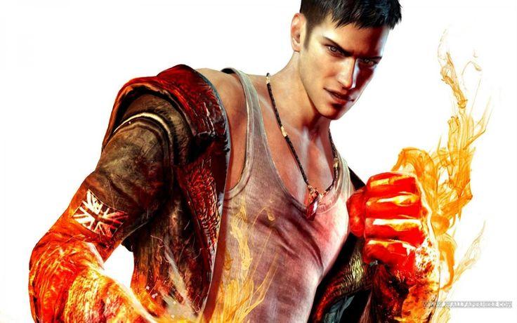 Dante Devil May Cry Game   Free Desktop HD Wallpaper