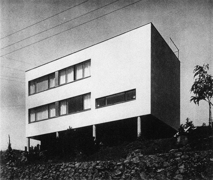 Villa Sutnar, prague, Czech Republic (1932)