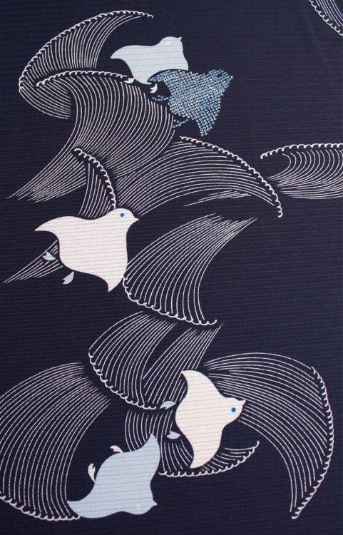 """collectorandco: """"kimono fabric / detail """""""