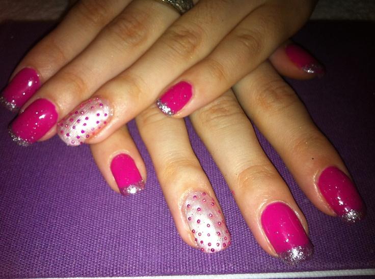 Nails Uv gel . By Joana Rocha