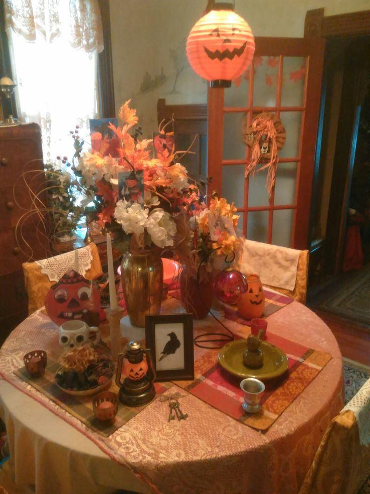 Halloween Decorations Indoor Fall Decorating Ideas