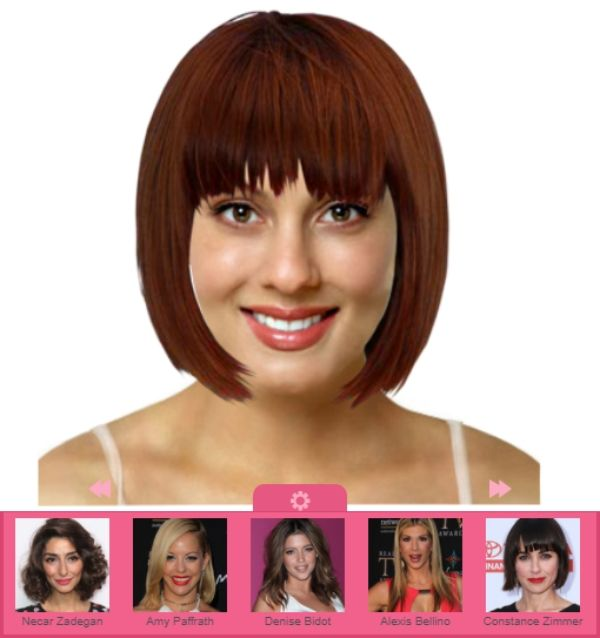 Free Smartphone App To Try On Hairstyles And Hair Colors In 2020 Virtual Hairstyles Try On Hairstyles Virtual Haircut