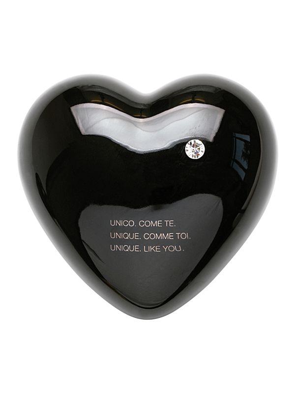 Cuore Diamante Creativando | Coquelicot Design DIAMANTE fa parte della collezione di cuori in ceramica, realizzato a mano in Italia. Oggetto di design può essere usato come semplice elemento decorativo, oppure scelto per il suo particolare messaggio. Particolarità di questo cuore è il brillantino incastonato.  Concept: Laura Ellero
