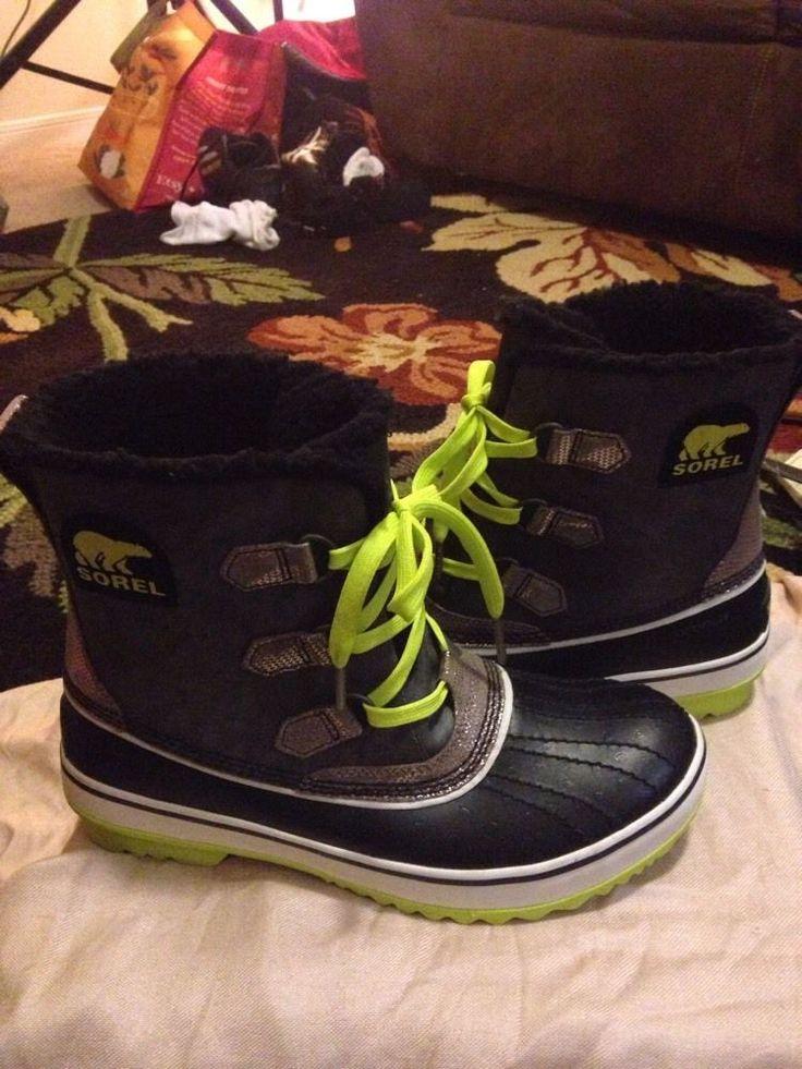Sorel Women's Winter Boots Waterproof Sz 9 Fancy  #SOREL #SnowWinterBoots #Casual