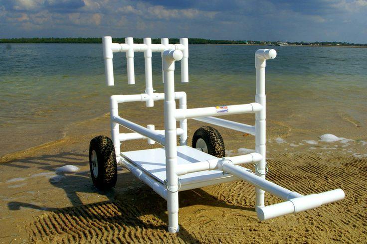 Main design inspiration beach cart inspirations for Pvc fishing cart