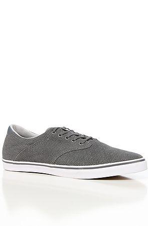 The Filter Suede Sneaker in Silver Herringbone 5|6