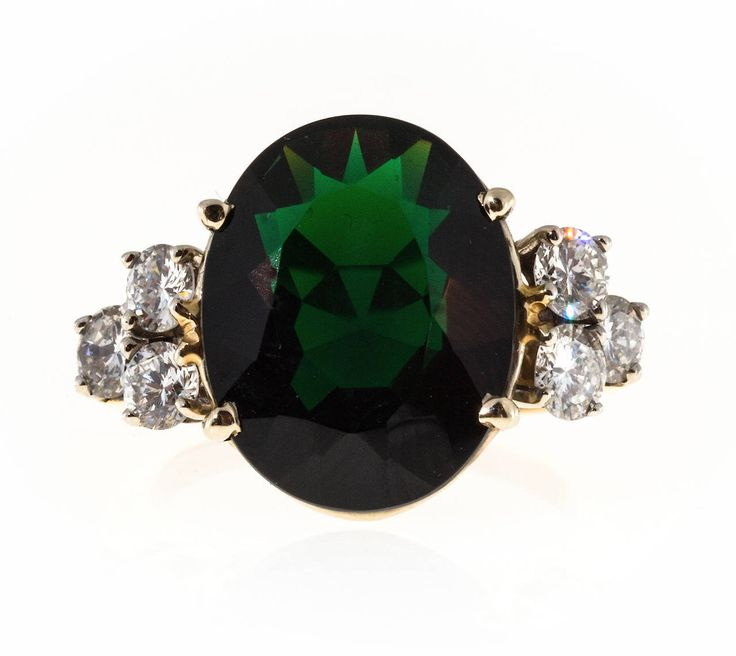 188 Best Tourmaline Ring Images On Pinterest Jewellery