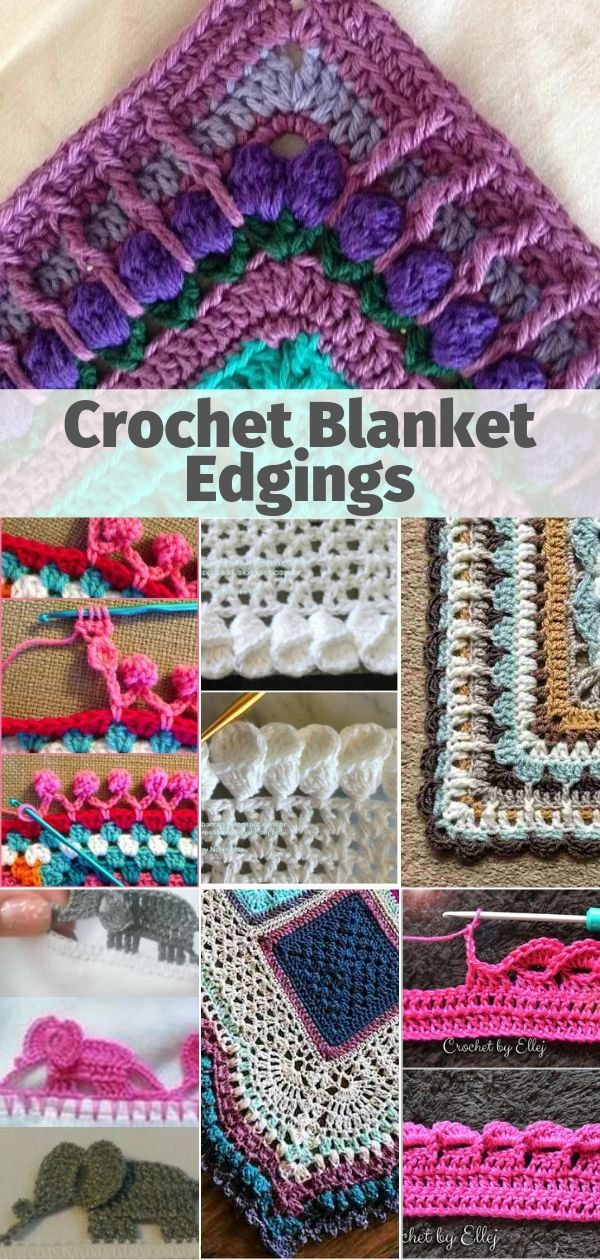 Crochet Blanket Edgings