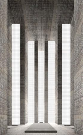 Catherdral from the series '7 sacred spaces' by Simon Ungers. Classical and…