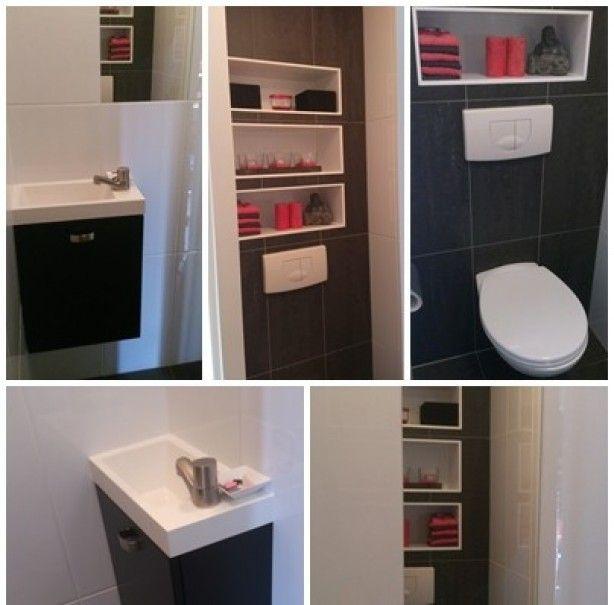 Meer dan 1000 idee n over wc planken op pinterest damestoilet opslag toiletruimte en meubelen - Wc decoratie ideeen ...