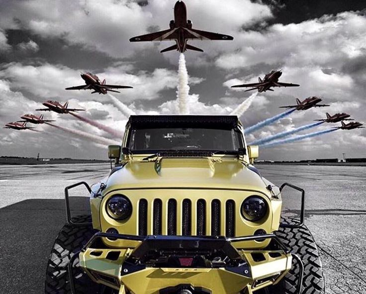 How a Jeep makes you feel!