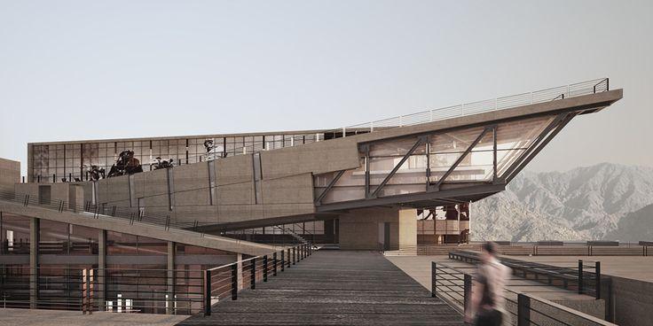 """Red Sea Institute of Cinematic Arts """"RSICA"""" / Symbiosis Designs LTD"""