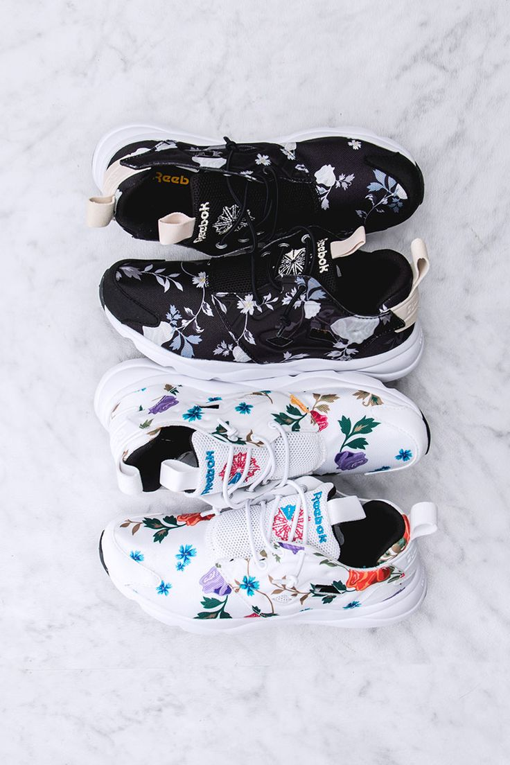 I need these! REEBOK Furylite SR Pack #sneakers #fashion #floral