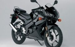 Honda CBR 125 Black Wallpaper
