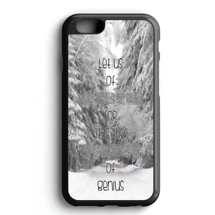 Winter Quotes iPhone 7 Case