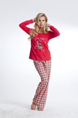 Piżama świąteczna PD-4103
