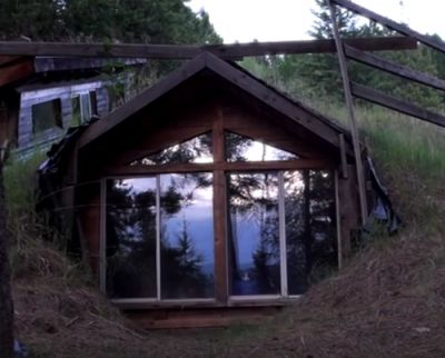 The Homestead Survival   Mike Oehler And His 50 Dollar Underground House – Take The Tour   http://thehomesteadsurvival.com