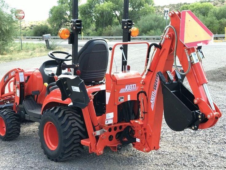 0000 kioti cs 2510 w/backhoe | Homesteading | Tractors, Car hauler