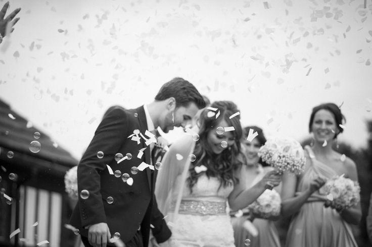 Bubble Confetti #confetti #photography #wedding