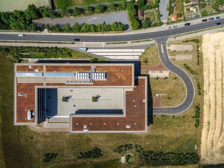 FHWS WFHWS Würzburg-Schweinfurt Fakultät Informatik und Gestaltung Sanderheinrichsleitenweg Luftaufnahme