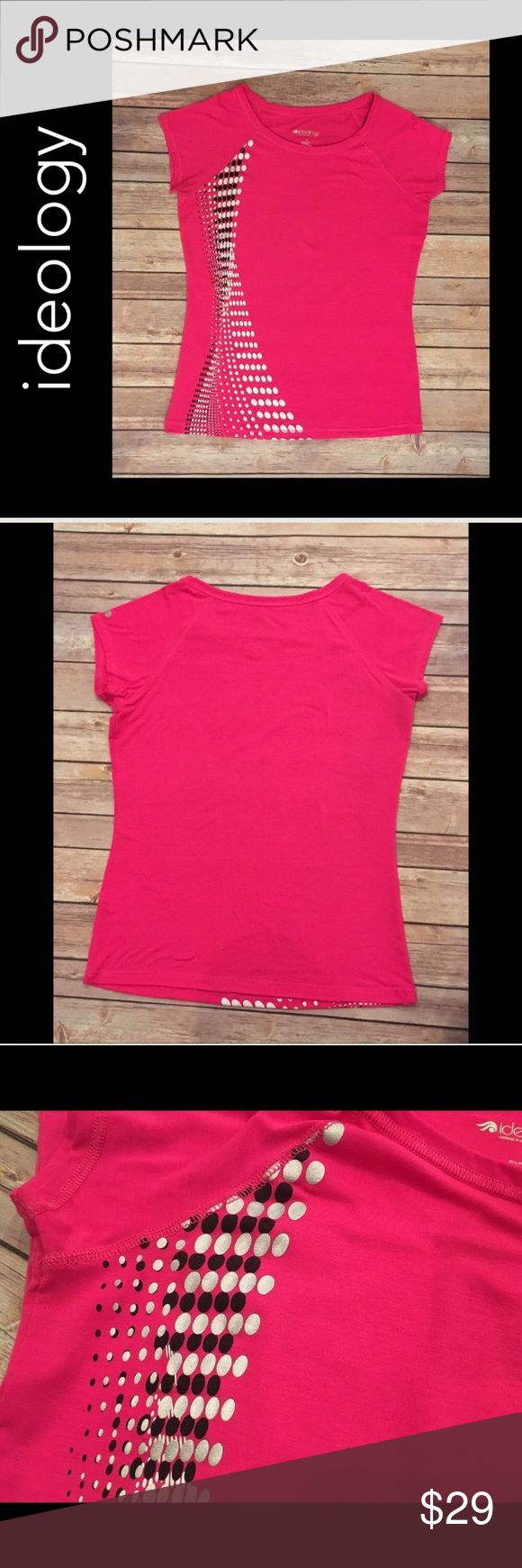 💐 ideology S Hot Pink SS Athletic T-Shirt ideology S Hot Pink Short Sleeve Athletic T-Shirt Small   Well-cared for; Hung to dry and never dried in the dryer  No holes  No stains Ideology Tops Tees - Short Sleeve