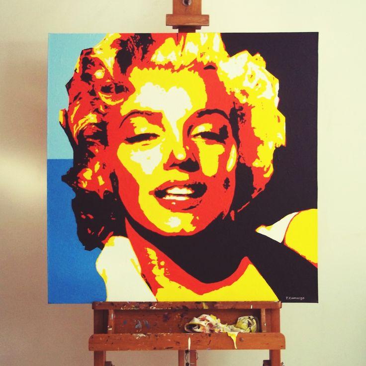 acrylic on canvas , 80x80cm