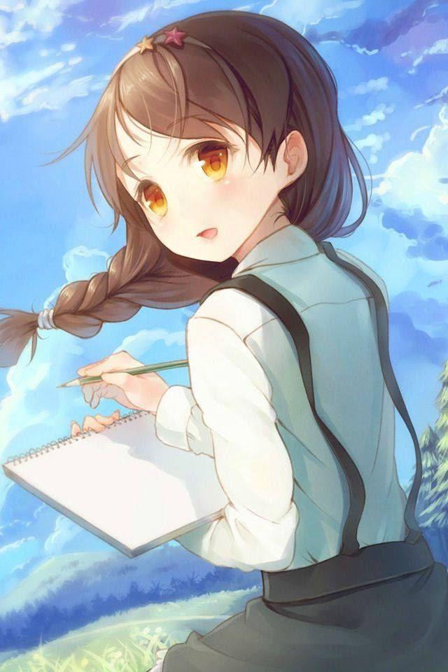 Best 25 cute anime wallpaper ideas on pinterest cute - Anime pretty girl wallpaper ...