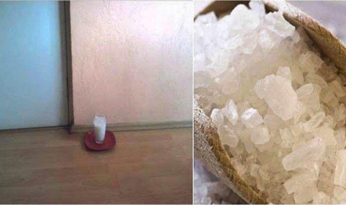 Nechajte doma pohár s vodou, soľou a octom a uvidíte tie zmeny za 24 hodín | Báječný život