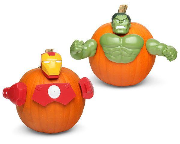 Marvel Pumpkin Push-In Kit