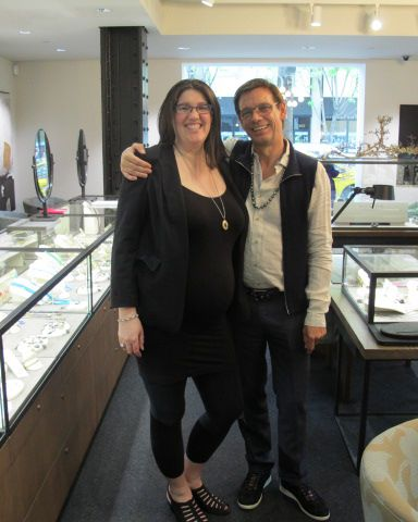 Ray visits Fox's Seattle for a trunk show.  We love this Aussie!