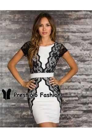Vestido corto Eliseo de fiesta online - Corsets online lenceria vestidos