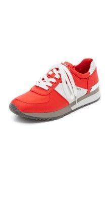 Tory Burch Тренировочные кроссовки Sawtooth с логотипом   SHOPBOP