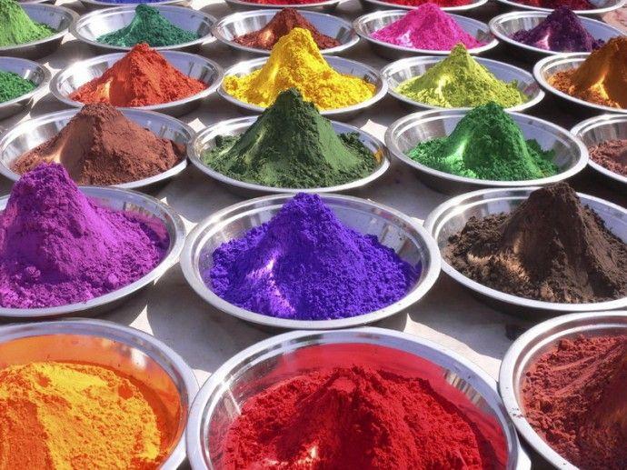 Интресные факты о порошковых красках
