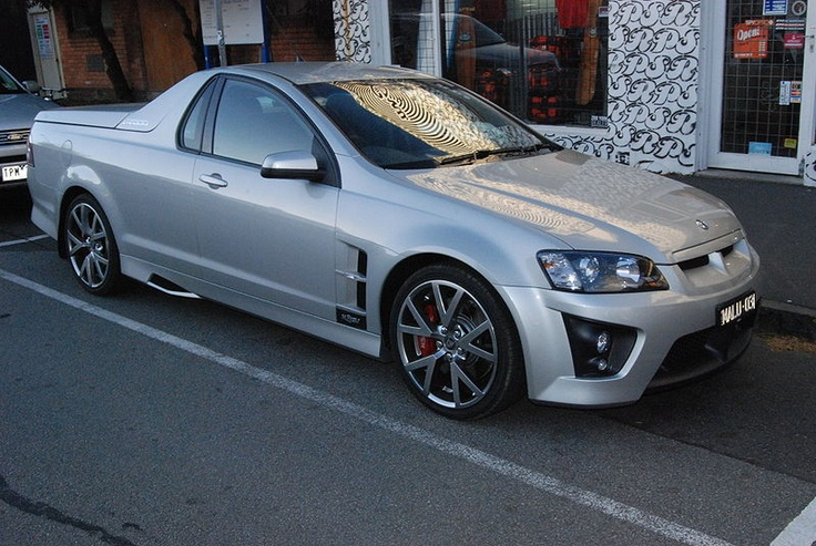 Holden USV Ute Maloo, not an old one this one obviously but it's a maloo. ;)