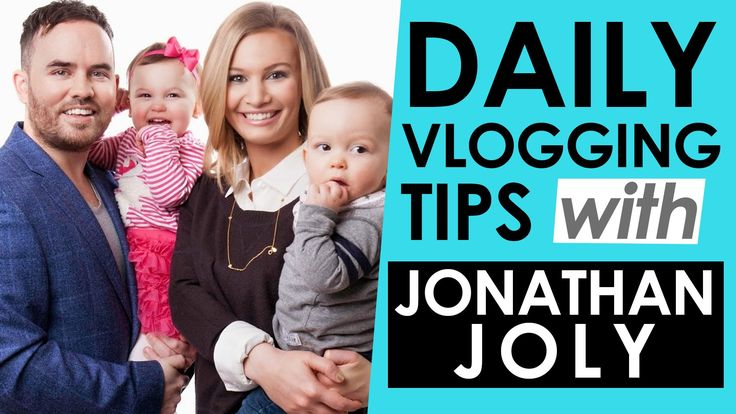 Daily Vlogging Tips with Jonathan Joly — Sacconejoly Interview